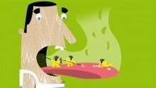 chronische slechte adem